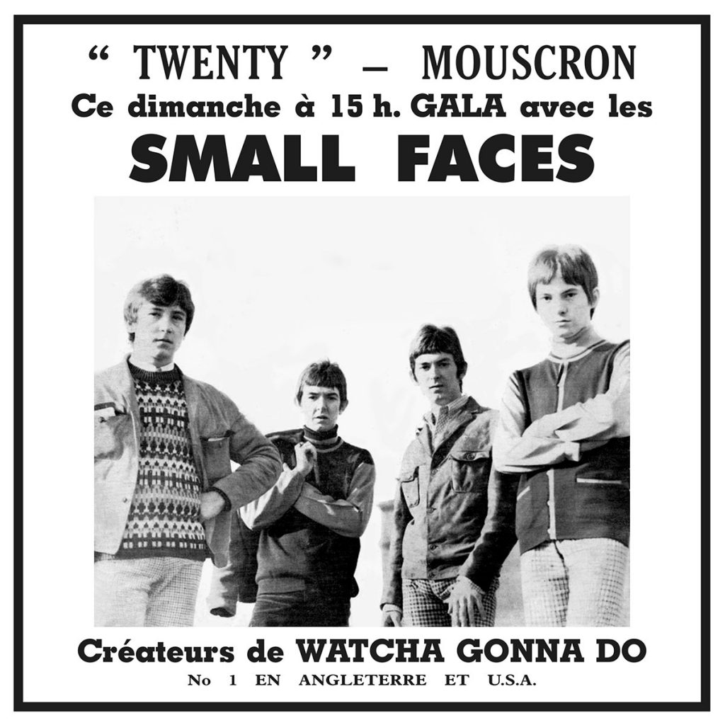 Small Faces Live 1966 - Exclusive Art Print Sleeve