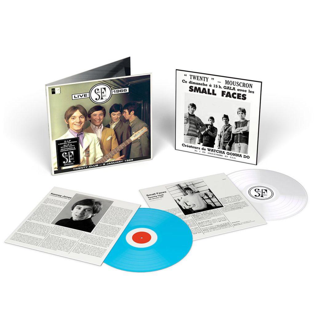 Small Faces Live 1966 - LP - Coloured Vinyl