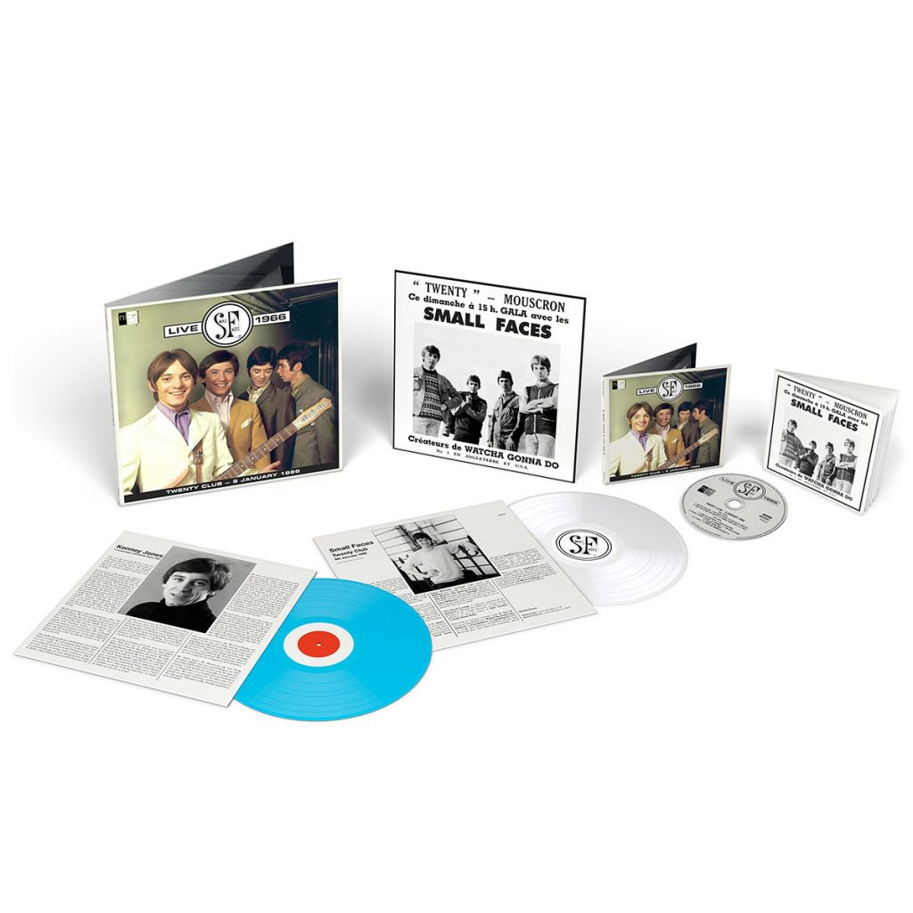 Small Faces Live 1966 - LP and CD