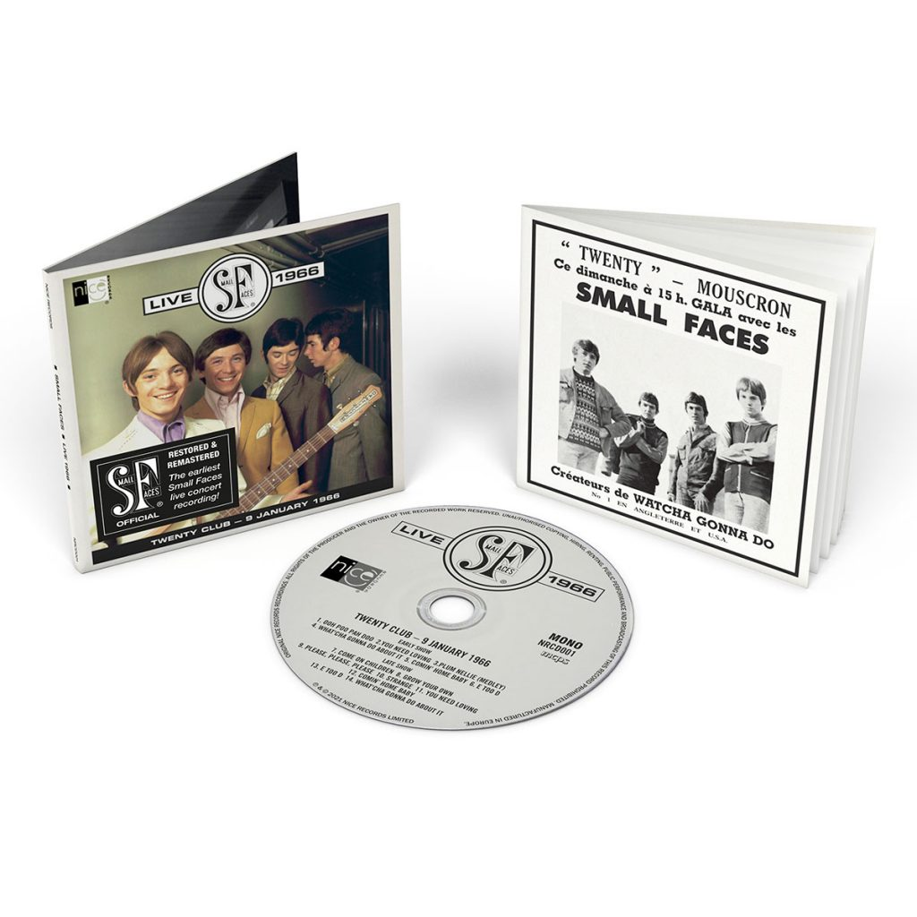 Small Faces Live 1966 - CD