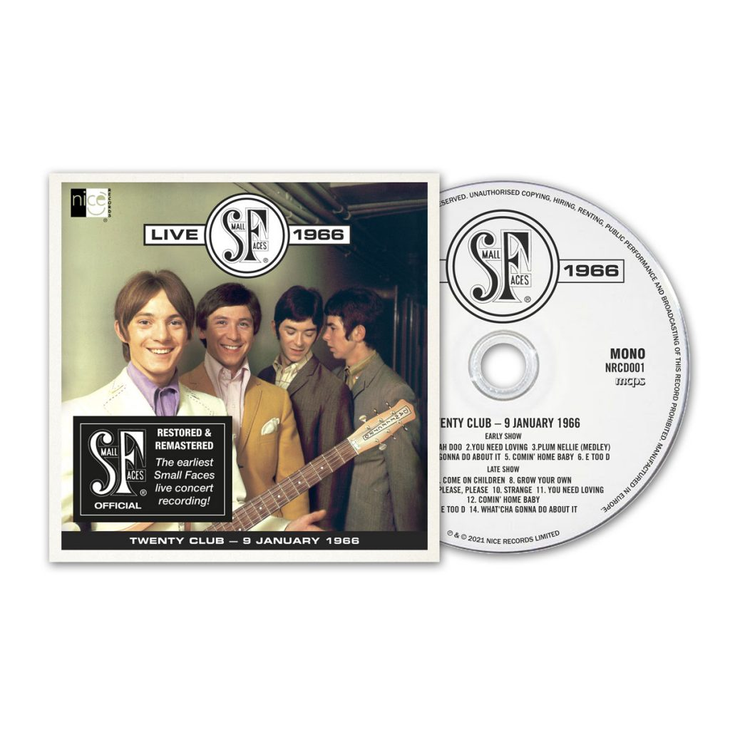 Small Faces Live 1966 - Exclusive CD